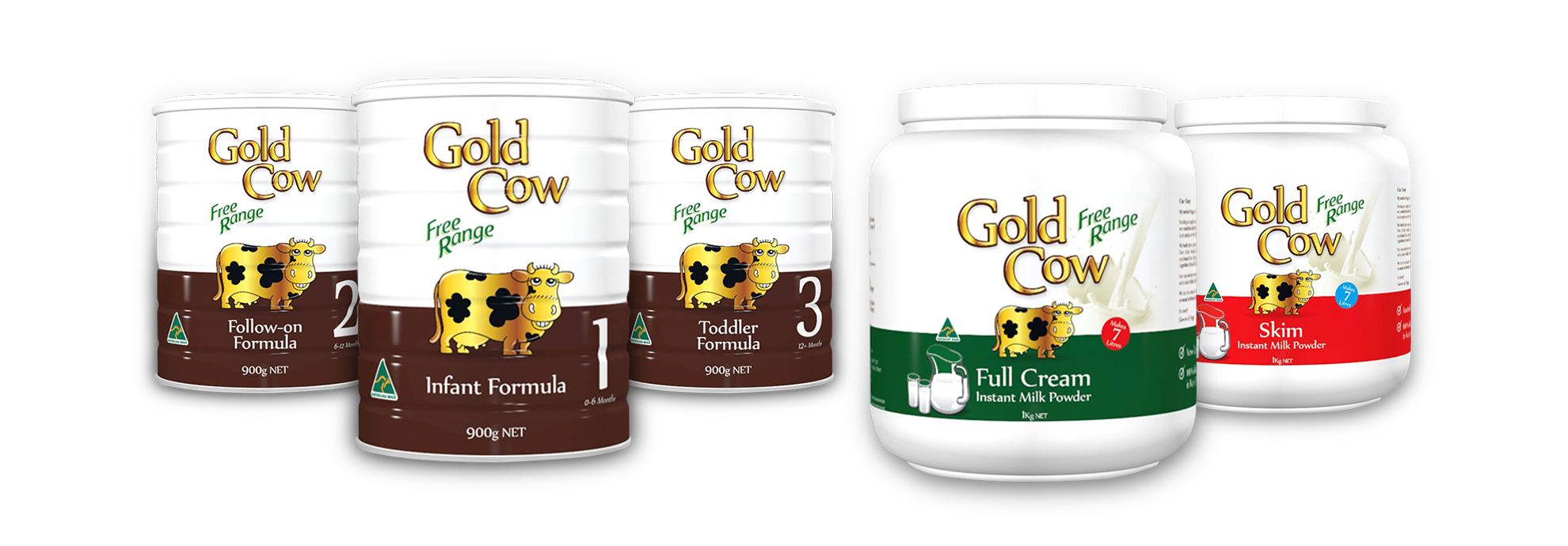 Gold Cow Milk Powder